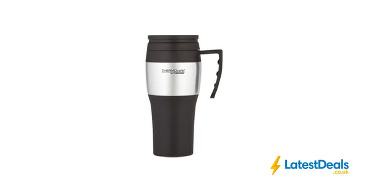 Thermos Black Travel Mug Free C&C, £4 at ASDA