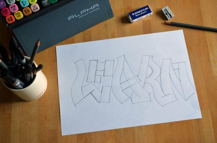 how to do graffiti 3