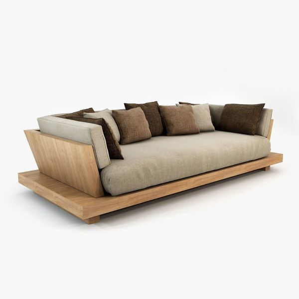 3d Model Bonetti Kozerski Lounge In 2020 Sofa Bed Design Rustic Sofa Lounge Sofa