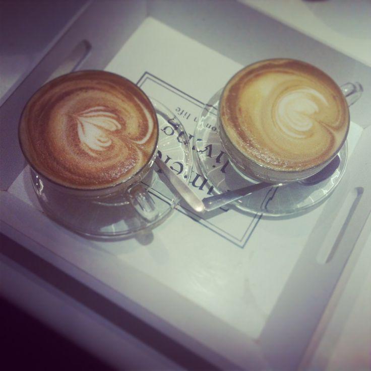 cafe' au lait