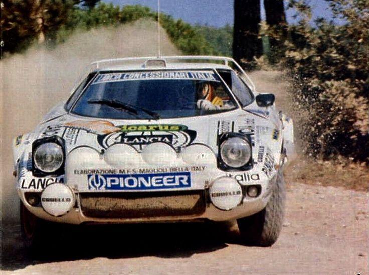 Lancia Stratos Tony Mannini SanRemo 79 Winner l