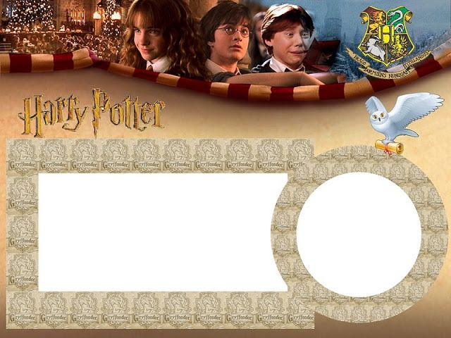 Harry Potter Free Printable Kit.