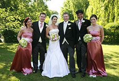 Traditional wedding photography & a good mix of natural, relaxed & fun shots of the Wedding Party and guests.