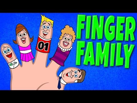 Finger Family Song - Nursery Rhyme Songs with Lyrics and Actions by The Learning Station - YouTube