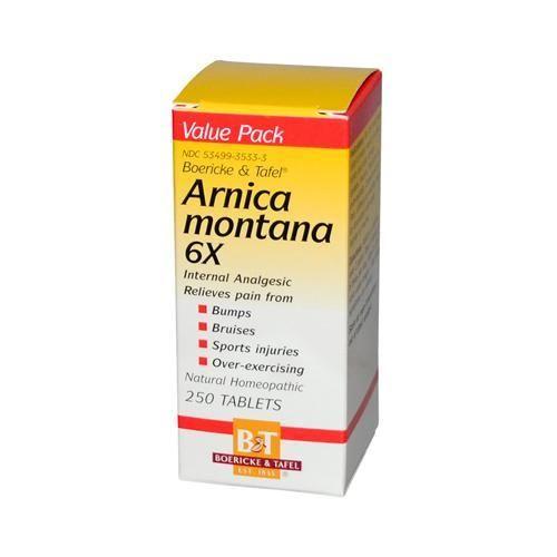 Boericke And Tafel Arnica Montana 6x (1x250 Tablets)