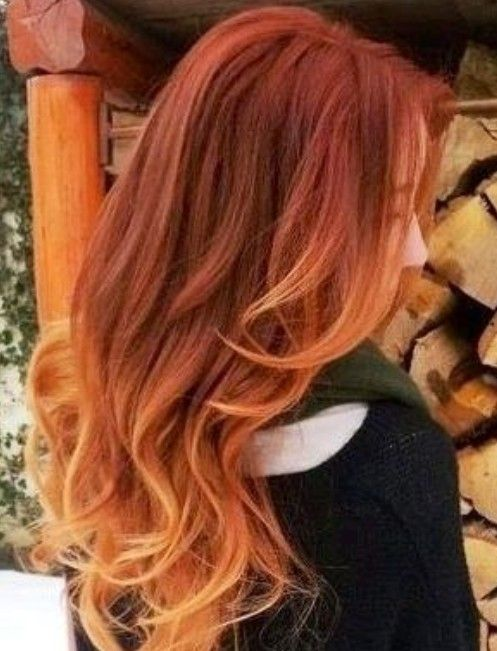 Hair Color Trends For 2020 Red Ombre Hairstyles In 2019