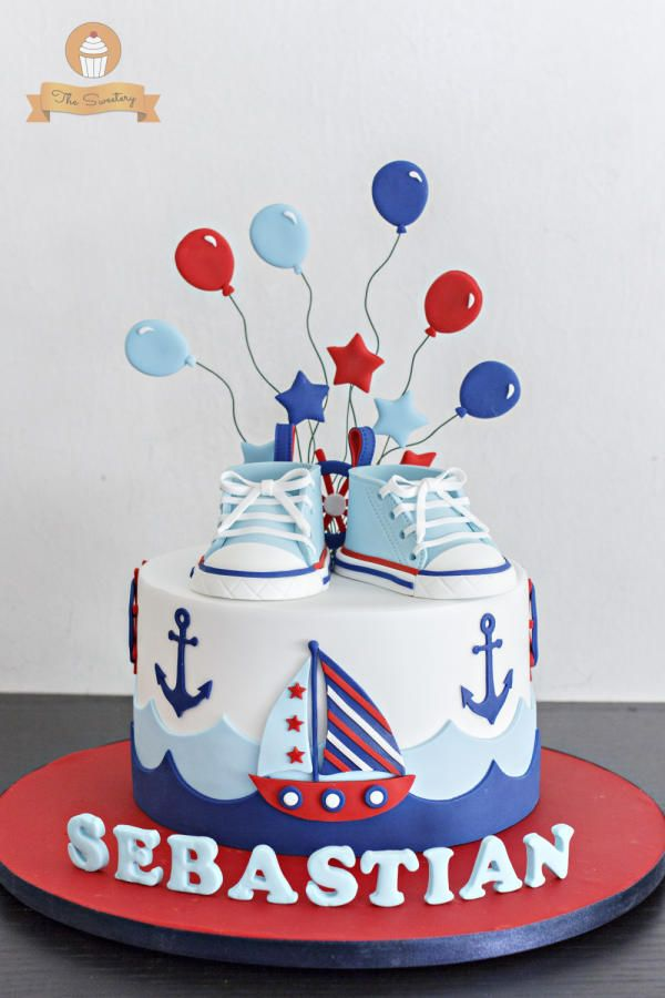 Nautical Cake by The Sweetery - by Diana