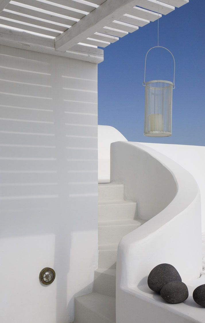 Jaw Dropping Views Of The Mediterranean From The Aenaon Villas In Santorini…