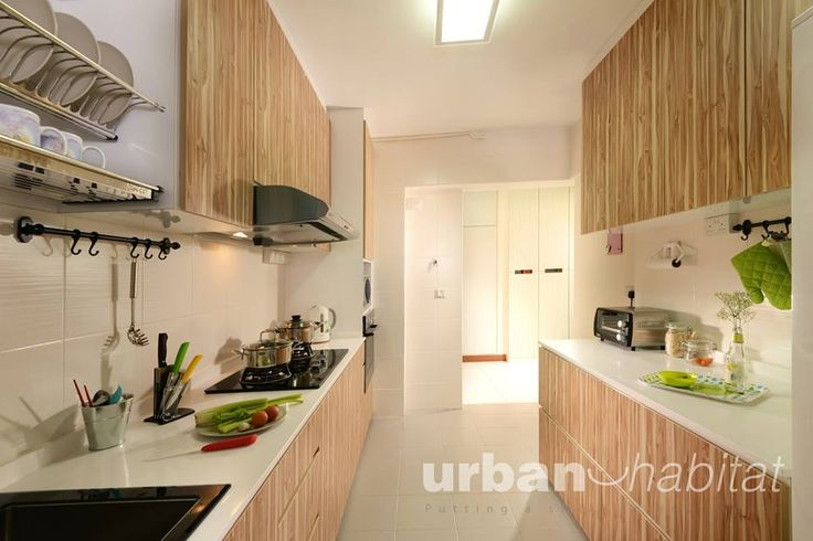 Hdb bto 4 room nautical design yishun interior design for Kitchen ideas singapore