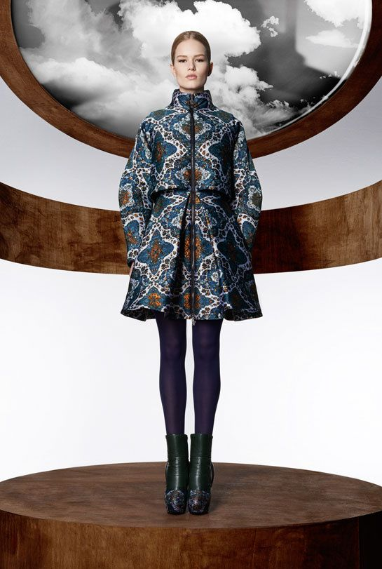 Moncler M by Mary Katrantzou, coats, down Jackets, collaboration
