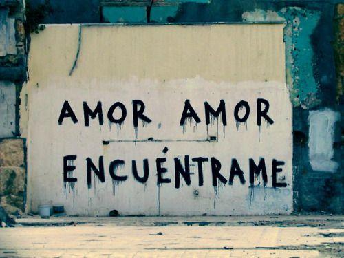 Amor, amor, encuéntrame