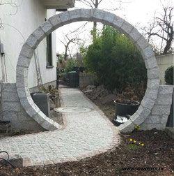 Zaunpfosten aus Granit - Natursteine aus Polen und Schweden
