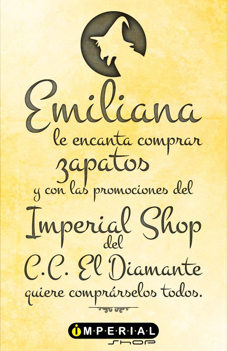 Visita nuestra tienda Imperial Shop C,c El Diamante y encuentra excelentes precios en tenis, ropa y accesorios deportivos, guayos y balones. Adidas, Nike, Puma, Converse, Diesel, Lacoste,Lotto y Fila.