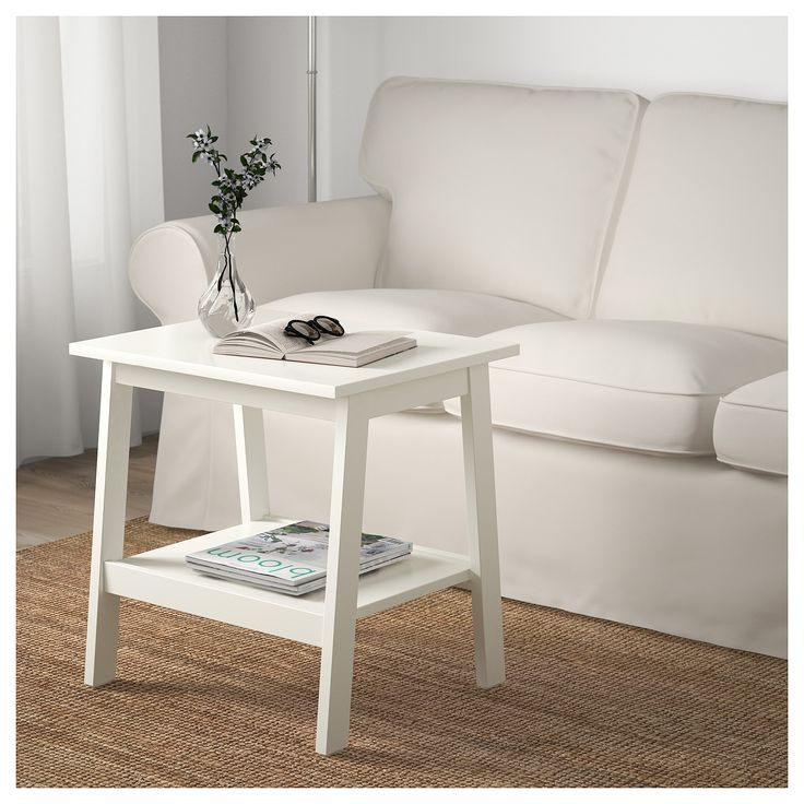 Ikea lunnarp side table white white side tables ikea