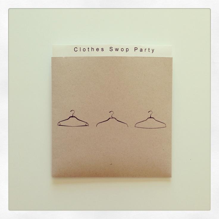 Clothes Swop Party | Pocket Invitation