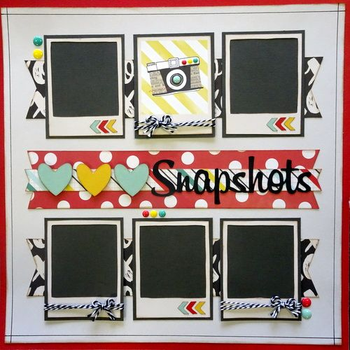 Lovely One Photo Scrapbook Layout Ideas Compilation Photo And