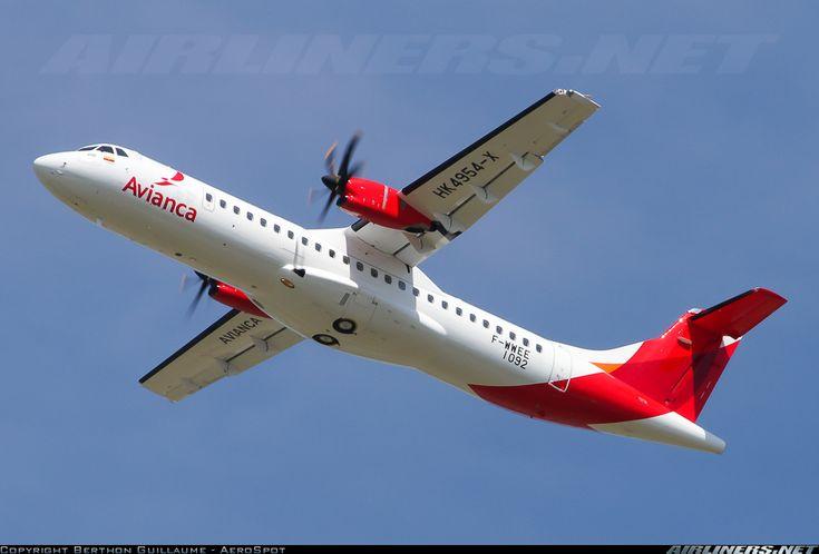 """ATR 72 600 de Avianca """"ATR ATR-72-600 (ATR-72-212A) aircraft picture"""""""
