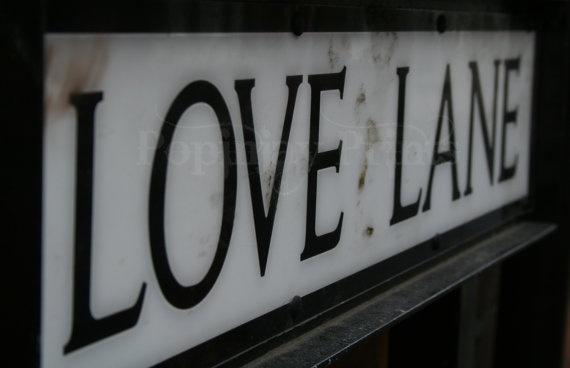 Love Lane by PopinjayPrints on Etsy, $17.00