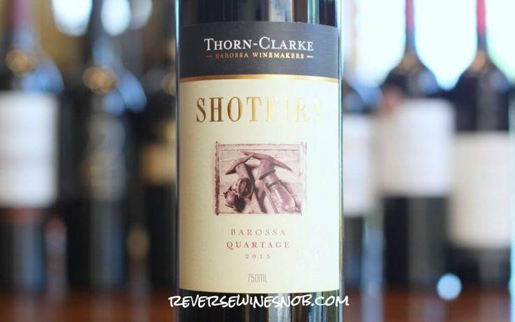 Reverse Wine Snob reviews a Barossa Valley Bordeaux Blend, the Shotfire Quartage from Thorn-Clarke. Cab Sauvignon, Cab Franc & Petit Verdot from Australia.