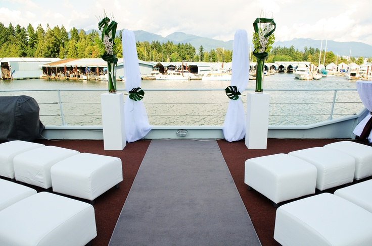 Exchange vows with the water as your witness | The Wedding Yacht