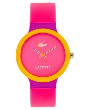 Sherbet Color Lacoste Watch. $109.77