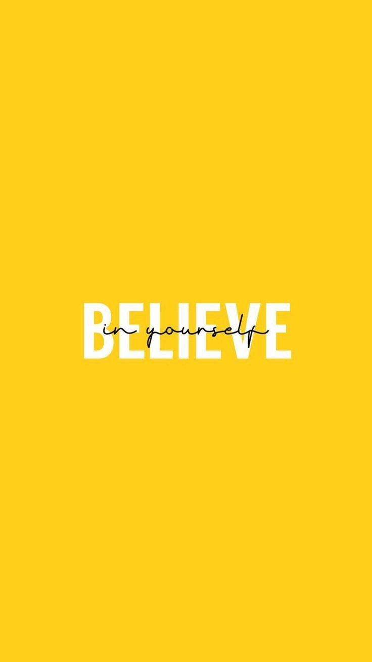 wallpaper iphone – believe in yourself – #iPhone …