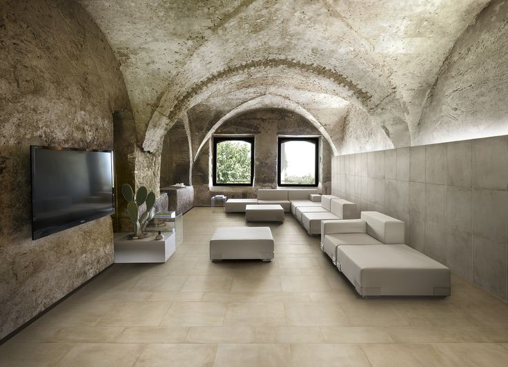 #Cement in #porcelain #stoneware for a contemporary minimal design  Look all collection at  http://rbctile.com/series/one/