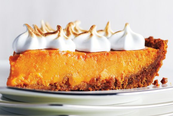 Sweet Potato Meringue Pie | Food | Pinterest