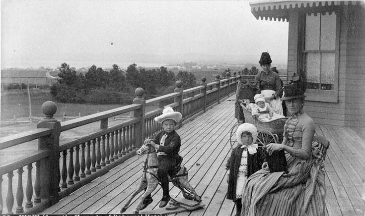View from the verandah of the Roberval Hotel, circa 1880–1890 /  La véranda de l'hôtel Roberval vers 1880 1890 | by BiblioArchives / LibraryArchives