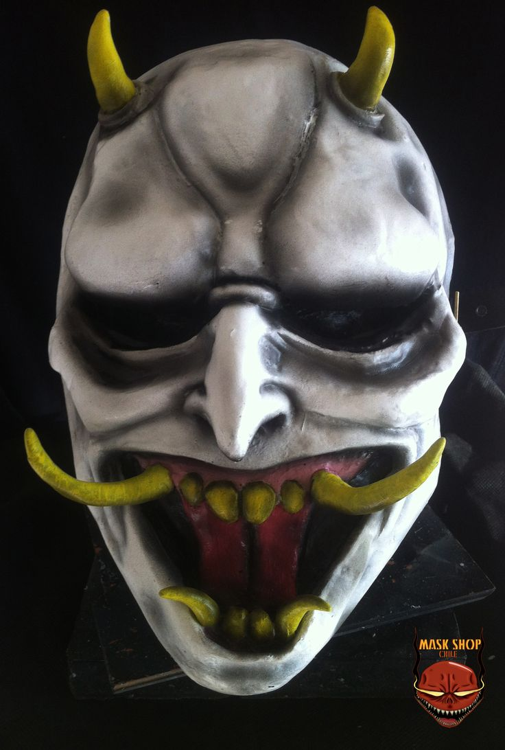 Hannya resin mask www.facebook.com/maskshopchile