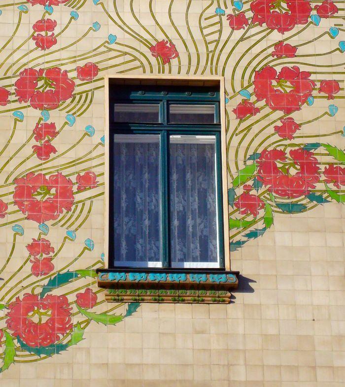 Majolikahaus, Otto Wagner, Vienna