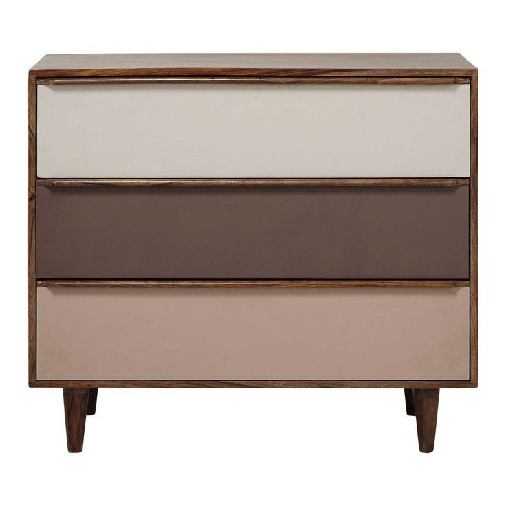 Solid sheesham wood chest of ... - Nina
