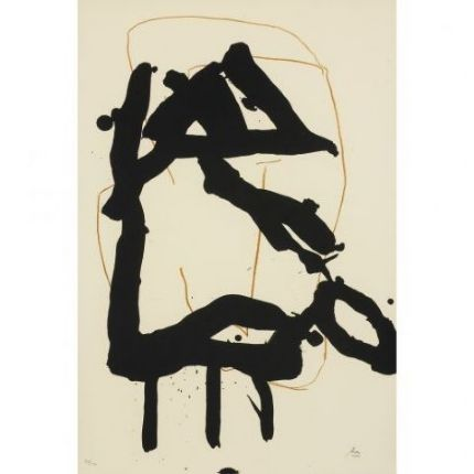 Beau Geste III by Robert Motherwell on artnet Auctions