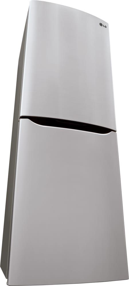 LG LBN10551PS 24 Inch Counter Depth Bottom-Freezer Refrigerator with Pocket Handles, Multi-Air Flow System, Door Alarm, 4 Freezer Drawers, Spillproof Glass Shelving, Digital Temperature Controls, LED Panels, SmartDiagnosis and 10.1 cu. ft. Capacity: Platinum Silver