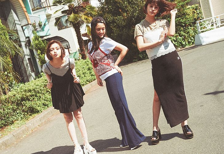 Models: Tina Tamashiro, emma, Maria Tani(ViVi exclusive)