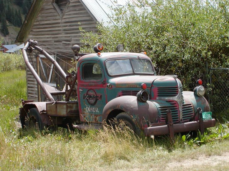 Vintage Tow Truck Grease Amp Rust Pinterest Tow Truck