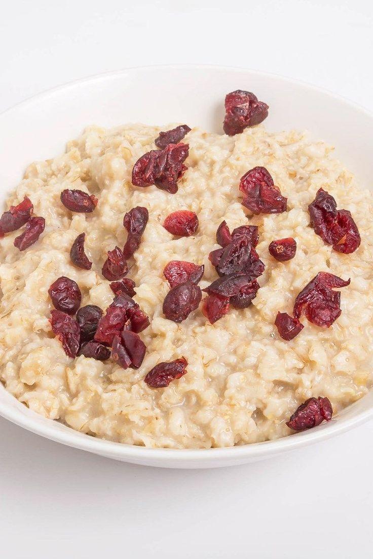 Applesauce Cranberry Oatmeal (Weight Watchers)