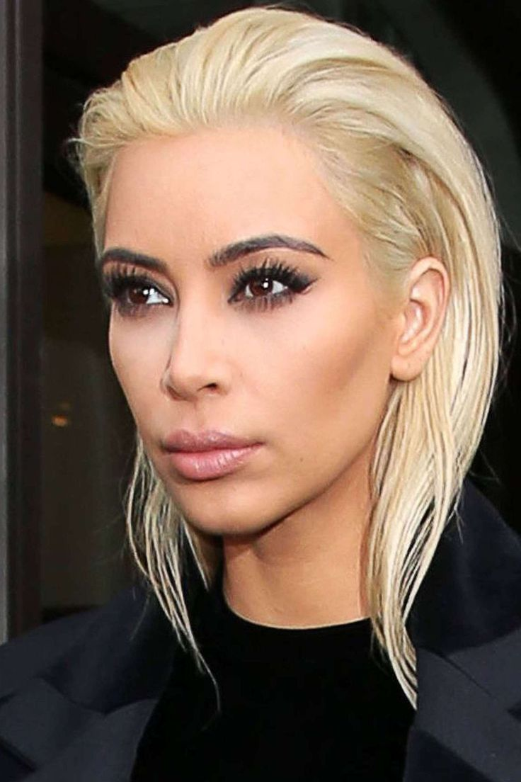 kim kardashian blonde platine - Recherche Google