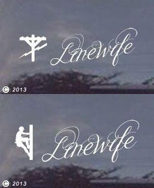 Linewife Decal Lineman S Wife Pinterest Lineman