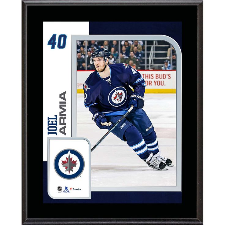 "Joel Armia Winnipeg Jets Fanatics Authentic 10.5"" x 13"" Sublimated Player Plaque"
