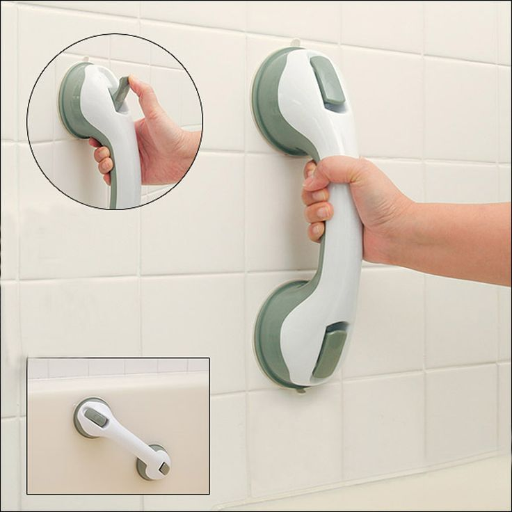Safer Strong Sucker Helping Handle Hand Grip Handrail  for children old people Keeping Balance Bedroom Bathroom Accessories ** Click image to review more details.
