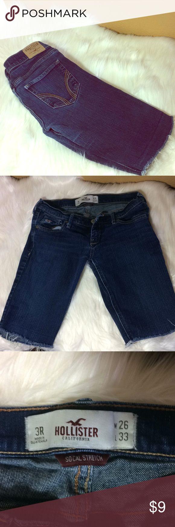 hollister jeans short length
