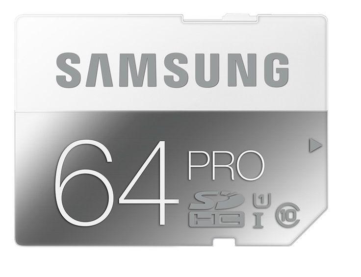 Carte mémoire SAMSUNG SD de 8 à 64Go