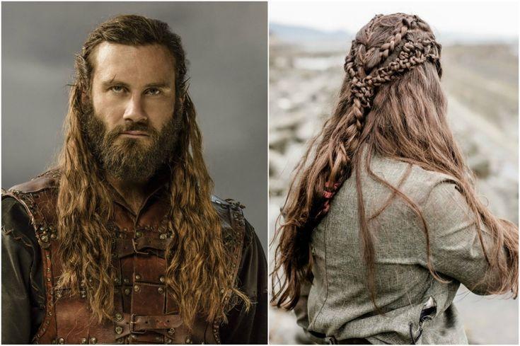 wikinger frisuren rollo zöpfe flechten lange haare #frisuren #hairstyle #hair