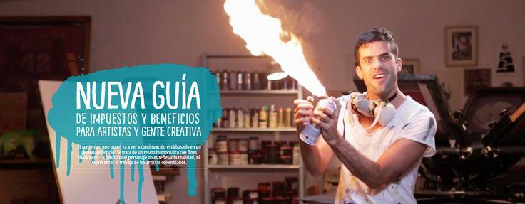 ¿Esa es la idea que tienen de los artistas colombianos? vía cartelurbano