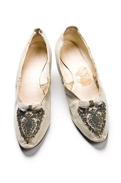 Shoes, 1880s, L Perchellet / Chaussures / Brevetées. Charleston Museum