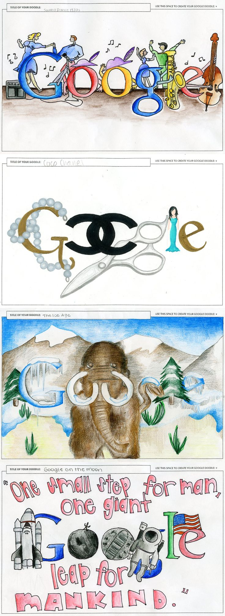 google-doodle - must look into and prepare for middle school
