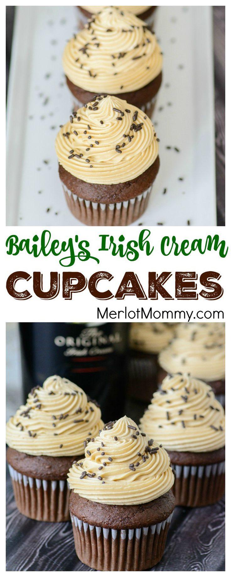 Bailey''s Irish Cream Cupcakes