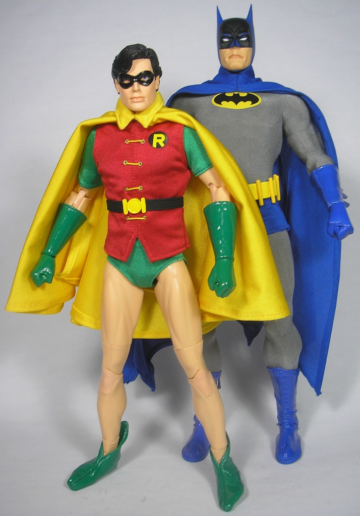 dc direct batman and robin cool toys pinterest