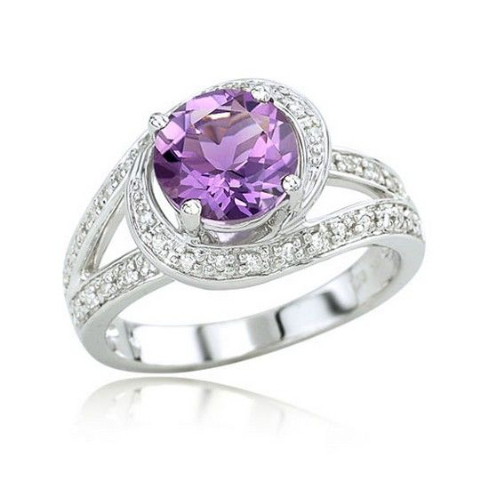 Silver and amethyst 3